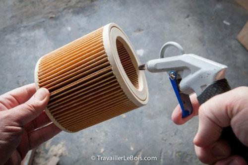 filtre soufflette