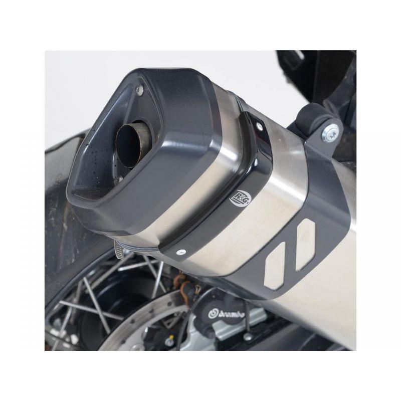 Protection de silencieux R/&G RACING noir Akrapovic hexagonal